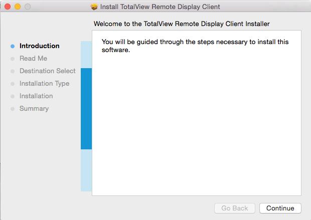Installing on Apple Mac OS X Intel